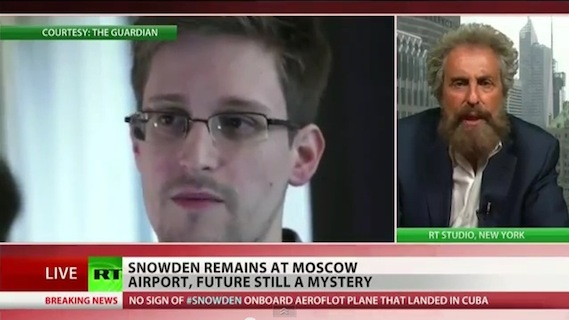 Stanley Cohen speaks about NSA wistleblower Michael Snowden