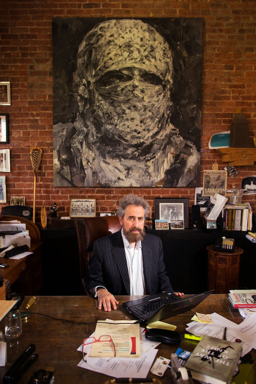 Mr. Cohen used to work from his loft on the Lower East Side but is now based in the Catskills. Credit: Robert Caplin for The New York Times